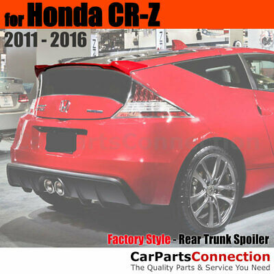 244R Fits: Honda CR-Z 2011-16 Rear Roof Window Spoiler Made in USA