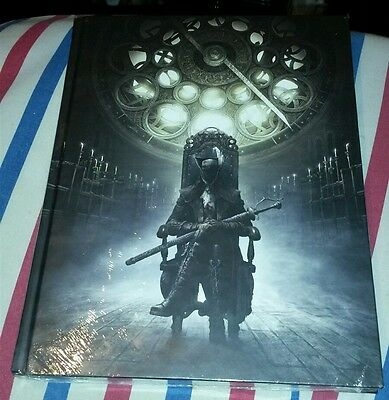 Bloodborne The Old Hunters Collectors Edition Strategy Guide Art Book Sealed New