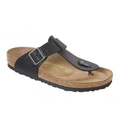 Birkenstock Oiled Leather Medina - Black - BNIB 046361