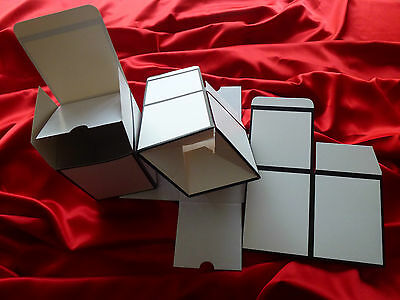 2 x Danube Large candle gift boxes NO window. Great gift idea for your candles.