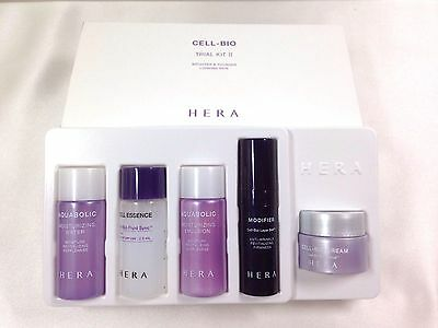 HERA Cell Bio Trial Kit 2 /Brighter&Younger looking skin travel set(5 Items)
