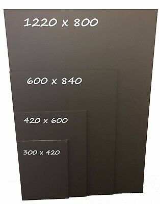 Quality Unframed Chalkboard Blackboard - Ideal For Indoor Or Outdoor Use