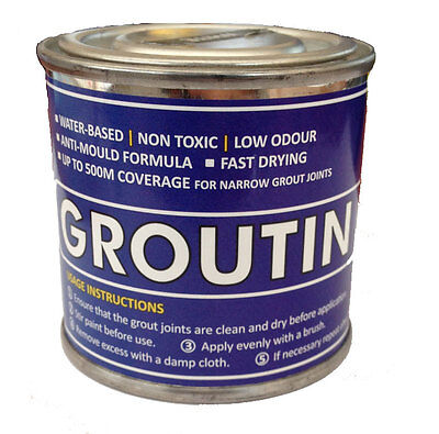125Ml Tile Groutin Paint - Ideal To Refurbish And Protect Tile Grout *9 Colours*