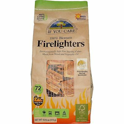 If You Care Firelighters - Non Toxic - 72 Pieces
