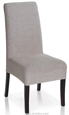 KR-020 Elegant Fabric Dining Chair in Mist