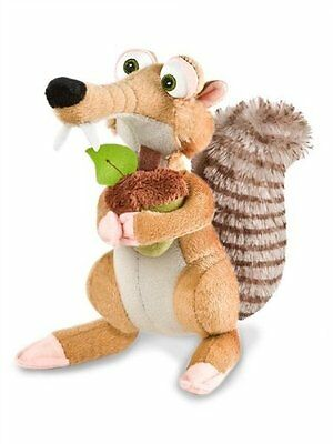 Ice Age 4 Scrat Sabre Tooth Squirrel with Nut Plush Toy 20 CM