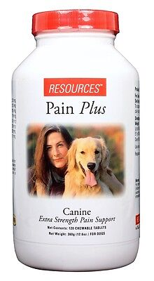 Resources Pain Plus Canine Chewable Tablets (120 count)