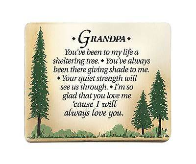 Grandpa Plaque Sign Frame Birthday Christmas Father Gift Thank You 2605 Granddad