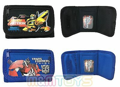 Transformers Prime Bumblebee Tri-Fold Wallet  Coin Purse Bag (1pc)