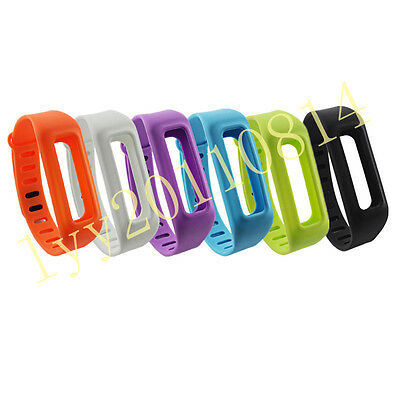 UK 6PCS Replacement Wristband Bands Bracelet For Fitbit One w/clasp No tracker