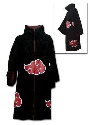 *NEW* Naruto Shippuden: Akatsuki Cosplay Economy Ver Large (L) Coat by GE