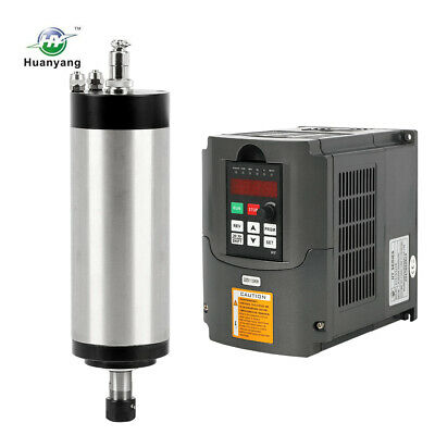 2.2Kw Water-Cooled Spindle Motor 4 Bearing And Inverter Vfd Engraving Mill Grind