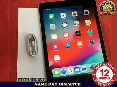PERFECT Apple iPad Air 2 64GB, Wi-Fi, 9.7in - Space Grey+TOUCH ID iOS 12 Ref 272