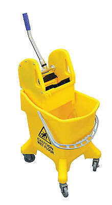 Heavy Duty Kentucky Mop Bucket - Professional Ergonomic Mopping System 30 litres