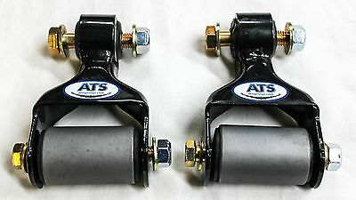 ATS Springs Front Leaf Spring Shackle Kit for Ford F250 F350 (Replaces 722-015)