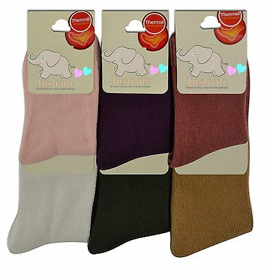 Girls Thermal Socks 3 pairs kids children socks 7 to 12 years Various Colours