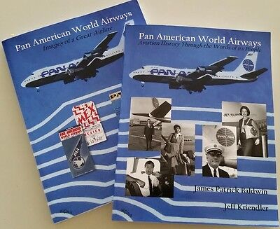Pan American World Airways - Images and History - Two Book Set