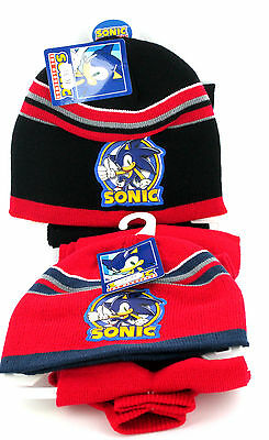 boys SUN CITY sonic scarf,hat and glove set style HM4302