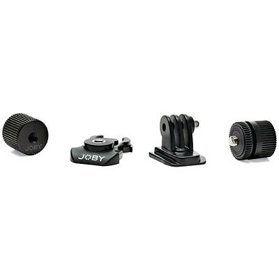 New Joby Action Series Adapter Kit For Video Camera Mounting Gopro Jb01345 Black