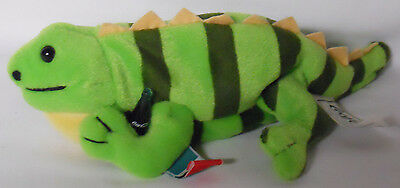 1999 Coca-Cola Mexico Paco the Iguana Mini Bean Bag-Beanie