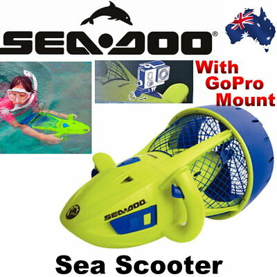 NEW Seadoo AquaRanger Sea Scooter with GoPro Mount Seascooter