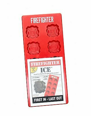 Firefighter Ice Cube Trays - Fire & Rescue Gift & Party