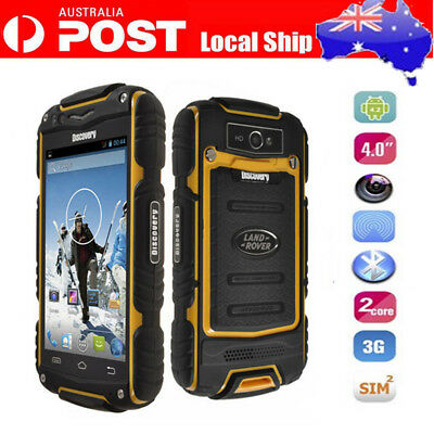3G Android Rugged Discovery V8 Smartphone MTK6572 Dual Core 4.0Inch  5.0MP Phone