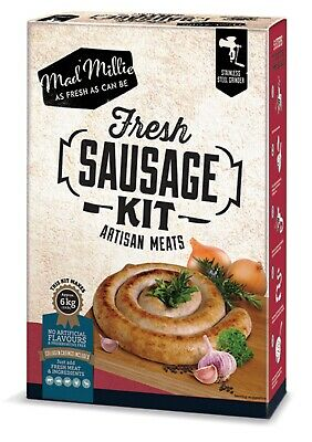 NEW MAD MILLIE FRESH SAUSAGE KIT Artisan Meat Mince Mincing