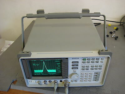 HP Agilent 8563A Spectrum Analyzer 9 khz to 26 ghz CALIBRATED 3.5mm sma availabl
