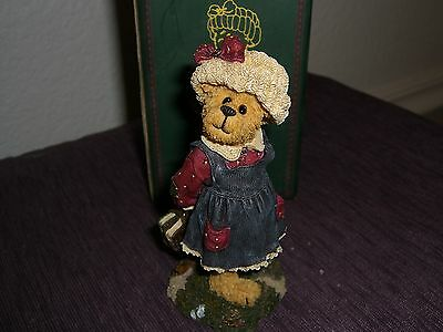 Boyds Bears Bailey ... Off To School Mint New In Box (Lot 15)