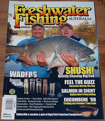 Freshwater Fishing Australia Magazine - 9 Very Scarce Collectors Issues All NEW!