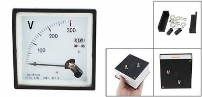 NEW DH96 AC 0-300V Class 1.5 Accuracy Analog Panel Volt Meter Voltmeter
