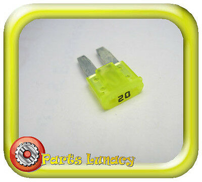 FUSE Micro2 Style 9mm 20 Amp Yellow FOR Ford Everest 2015-On