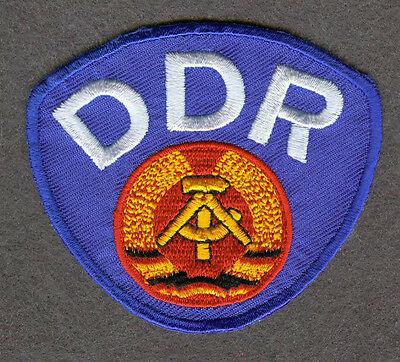 1974 DDR Away WC East Germany German Football Patch
