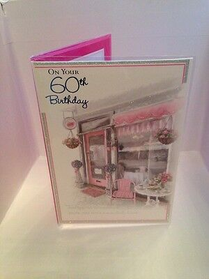 60th Birthday Card Sixty Cards For A 60 Year Old Female Family Or Friend