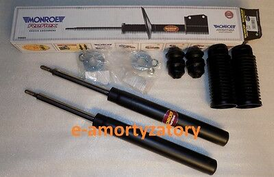 2x FRONT SHOCK ABSORBERS SAAB 9.3 9-3 (YS3D) 98-02 +Protection Kit MONROE E3454