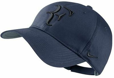 low priced 11f97 c944a NEW Nike PREMIER RF HYBRID Hat 371202-413 MIDNIGHT NAVY Cap Federer