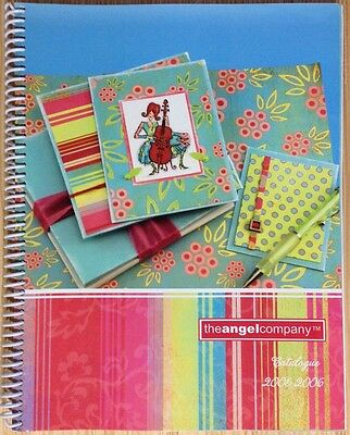 The Angel Company Rubber Stamp Catalog 2005 - 2006 Idea Book