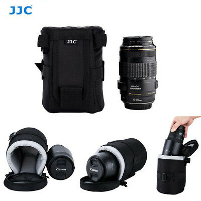 JJC 100*165mm Deluxe Lens Pouch Bag for Canon Zoom Lens EF 24-70mm 70-300mm Lens