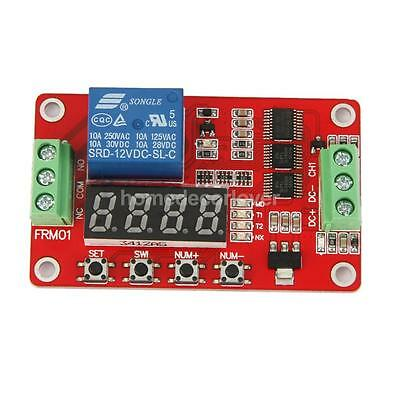 12V Relay Module Cycle Timer PLC Home Automation Delay Module Latching