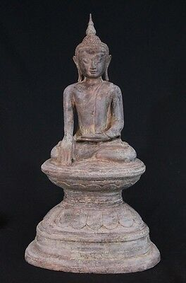 Old bronze Buddha statue from Burma | Antique Buddha Statues