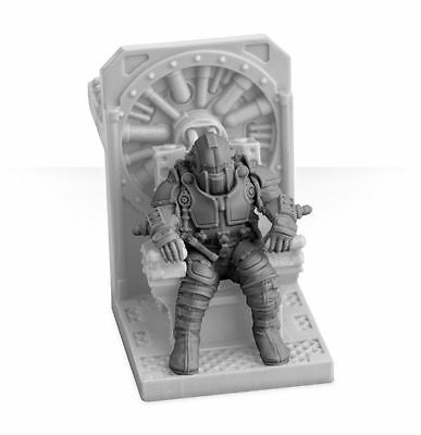 Warhammer 40k Forgeworld Imperial Knight SCION PILOT SEATED