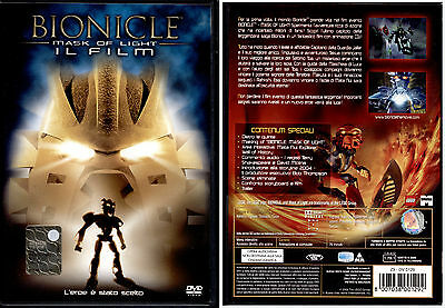 Bionicle Mask Of Light  - Dvd Nuovo E Sigillato, Prima Stampa, Bollino Tondo