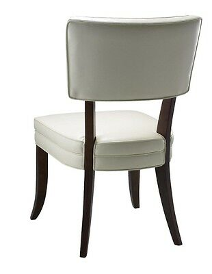 Leather Dining Chair with Open Back SR-43706