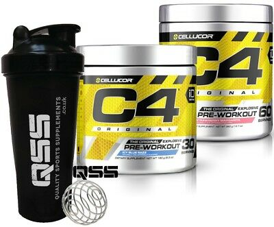 Cellucor C4 G4 30 Or 60 Serv Pre-Workout Explosive Energy Extraordinary Free Sha