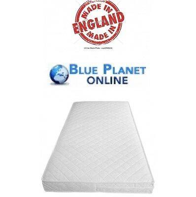 Baby Toddler Cot Bed Fully Breathable Foam Mattress & Waterproof Foam  QUILTED ~