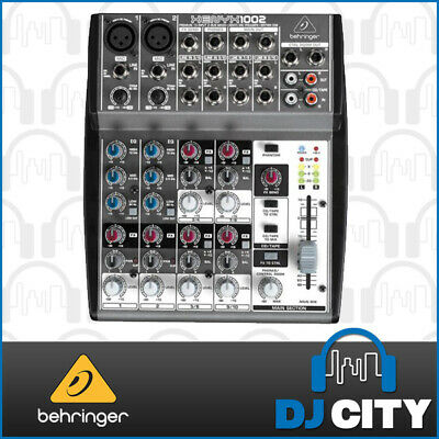 1002 Behringer 10 Channel PA Mixer Great for Small Venues and Solo Artists - ...
