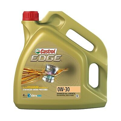 Castrol EDGE TITANIUM 0W-30 FST Synthetic Engine Oil 0W30 4 Litres 4L