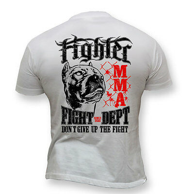 T-Shirt MMA FIGHT DEPT  Ideal for Gym,Training,MMA Fighters,Casual wears