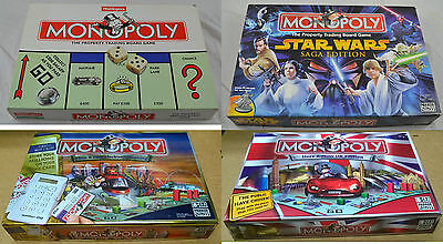 Monopoly Board Game Spares Original Here & Now Star Wars Disney Movers Cards